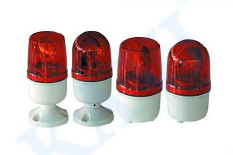 Flicker LED warning lights for motorcycles