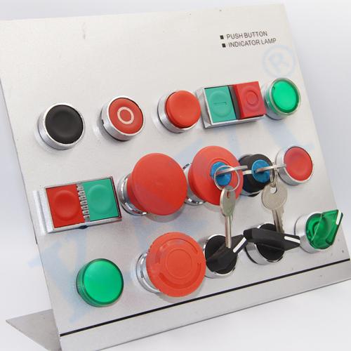 KB4 Indicator button