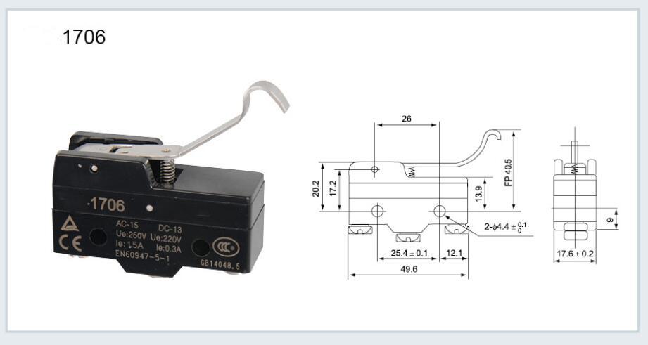 KM-1706 Micro switch
