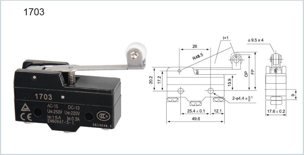 KM-1703 Micro switch