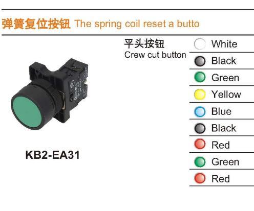 KB2-EA31 Crew cut button