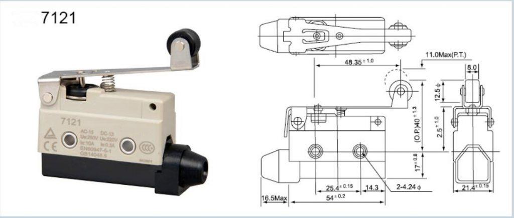 KZ-7121 Horizontal Limit Switch