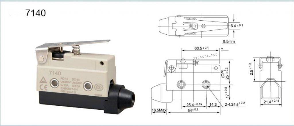 TZ-7140 Horizontal Limit Switch