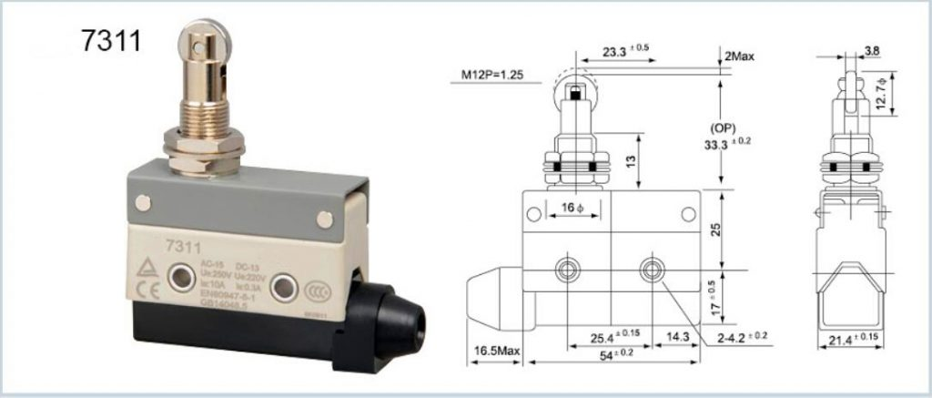 KZ-7311 Horizontal Limit Switch