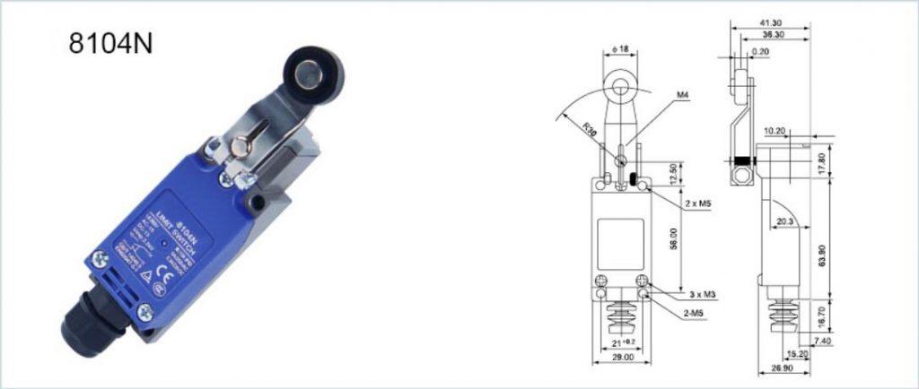 KZ-8 Vertical Limit Switch