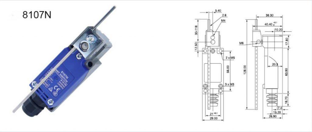 KZ-8107N Vertical Limit Switch