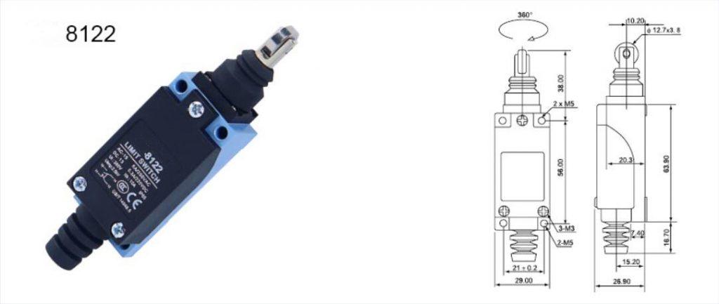 CNKAVI,KZ-8122 Limit Switch