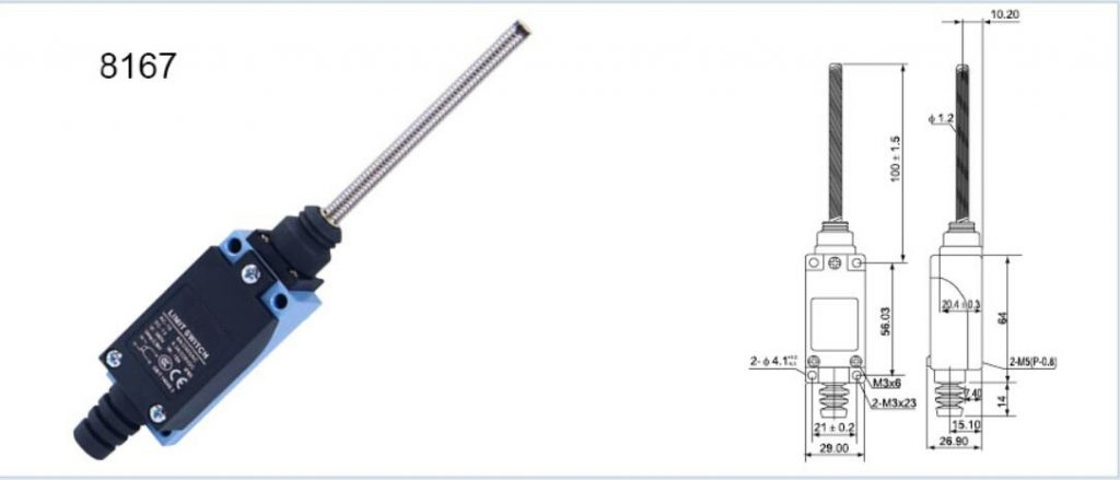 KZ-8167 Limit Switch