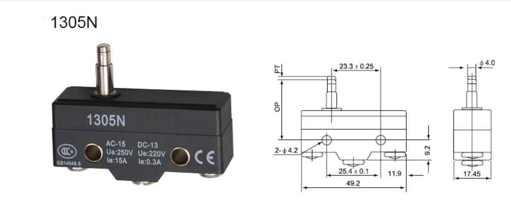 KM-1305N,Micro switch