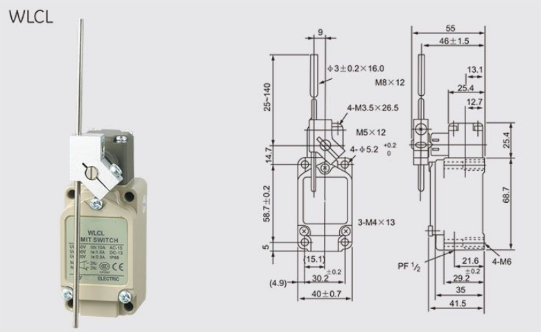 WLCL Limit Switch
