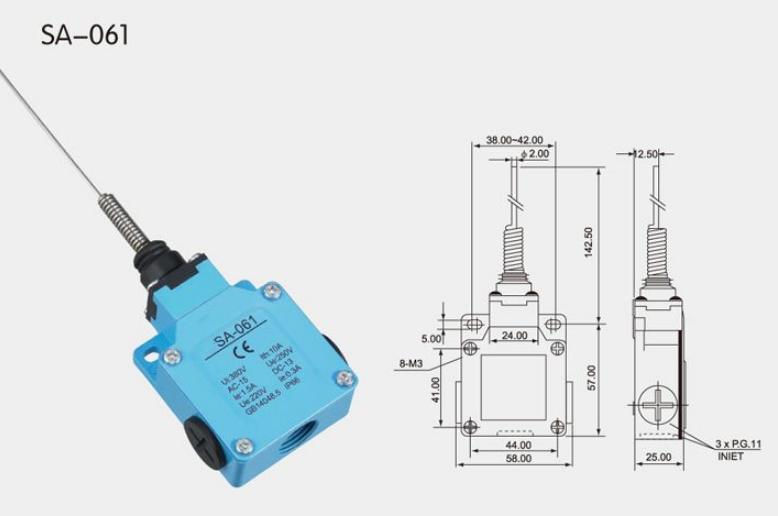 KSA-061 Limit Switch
