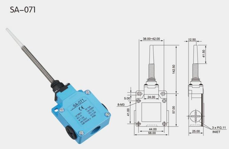 KSA-071 Limit Switch